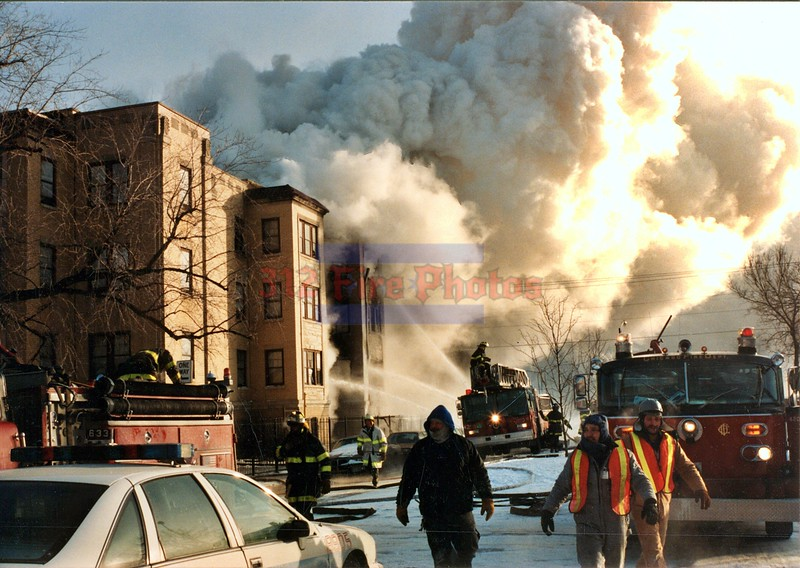 Chicago Fire Department Incident's by Year