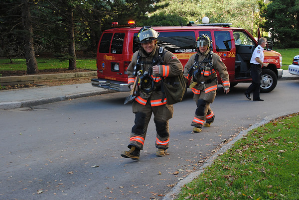 October 6, 2011 - 1st Alarm - 100 Graydon Hall Dr.