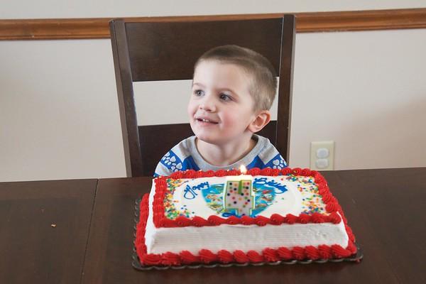 Shawn's 4th Birthday