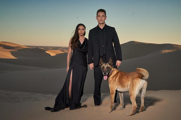 Taki Family at Glamis Sand Dunes