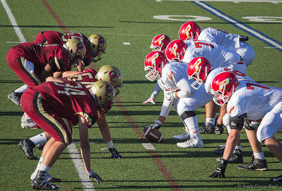 Noah Mack's Paraclete HS Football Game