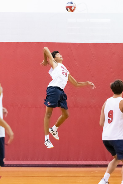 2019-08-27 Hickory vs Grassfield Boys Volleyball