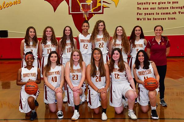 JV Girls Basketball Team 2018