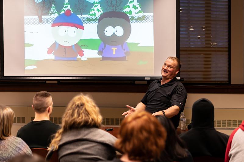 Diversity According to Family Guy andSouth Park with Matt Glowacki