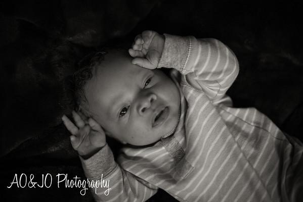 Baby Myles l Newborn Photography l Raleigh, NC
