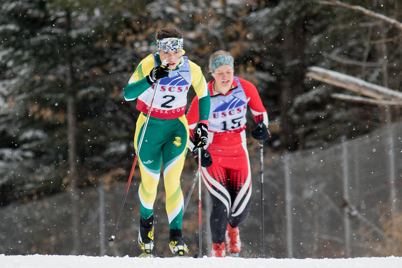 Clarkson Athletics: Women Nordic Skiing ECSC Divisionals