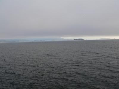 Sailing into Juneau