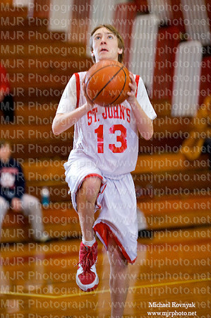 Holy Trinity  Vs St Johns, Boys Freshman Basketball 01.09.10