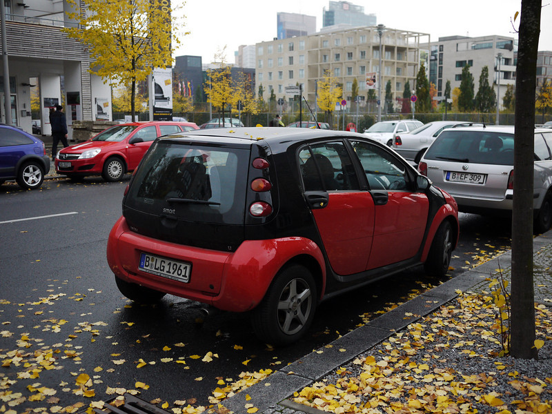 Smart is big in germany. Literally - is that a huge smart or what?