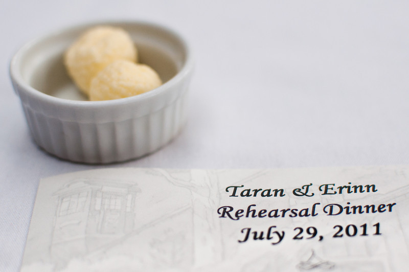 Taran & Erinn Reception Dinner