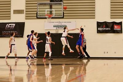 US Boys Basketball vs Willapa Valley Regionals 2-23-19