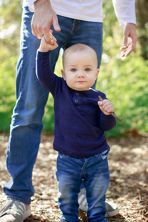 Evan Gorman and Family - 12 mos