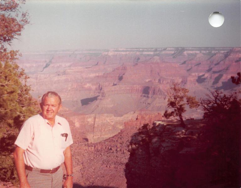 Ruben at Grand Canyon
