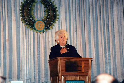 11-12-1998 Freeman Quality In Medicine with Barbara Bush