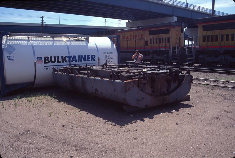 E-unit fuel tank. Cheyenne. July 14, 2000. <i>(Don Strack Photo)</i>