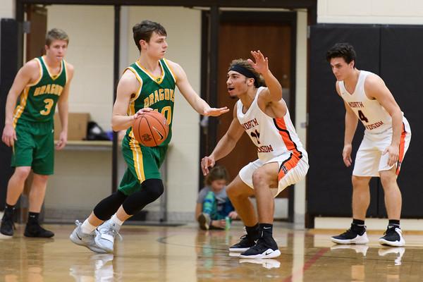NDHS Basketball vs West Davidson 2019