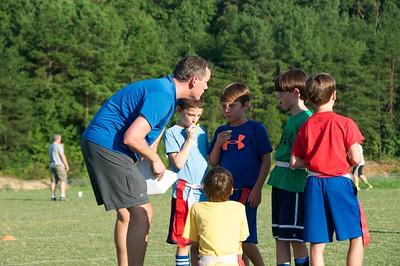 2013-09-04 Flag Football Practice
