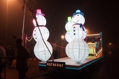 Lichtstoet en Sinterklaas 2013