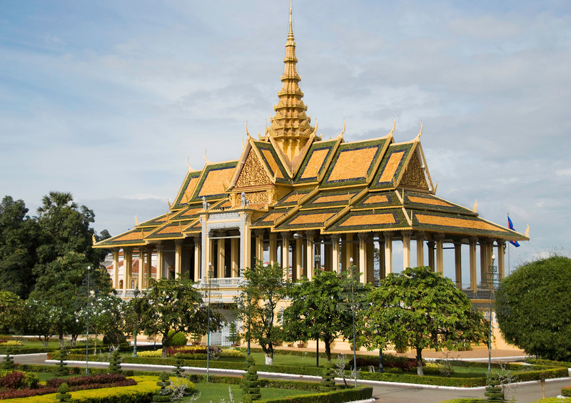 Building for ceremonial dances near the Royal Palace