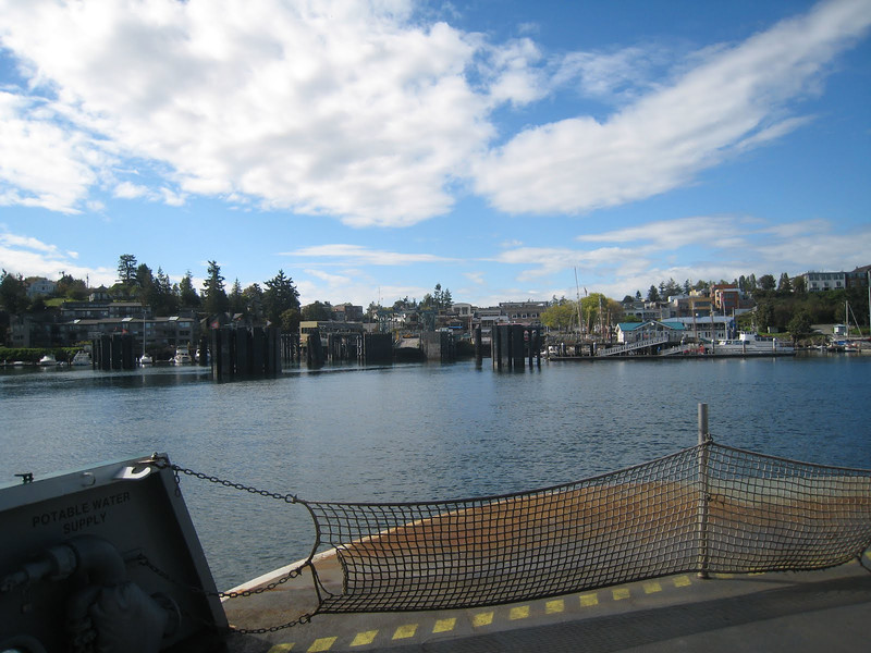 Arriving at Friday Harbor