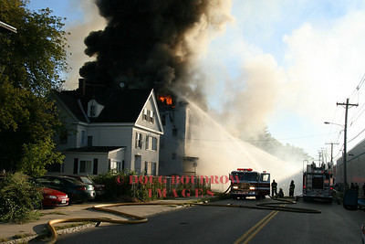 Lawrence, MA - 4th Alarm, 328 Andover Street, 9-2-07