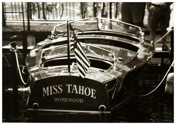 "28' 1939 CUSTOM RUNABOUT ""MISS TAHOE"""