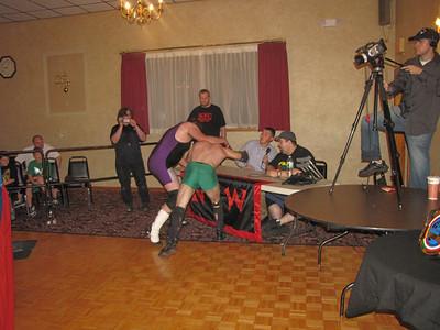Northeast Championship Wrestling Face Off  September 23, 2011