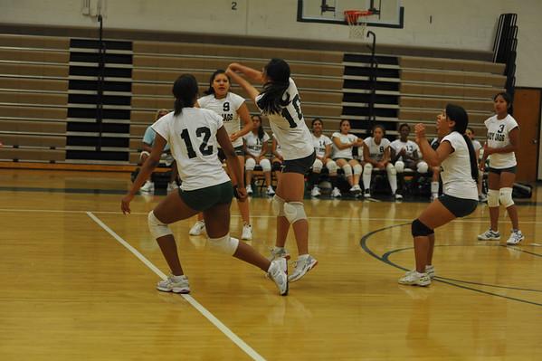 Falls Church Varsity Girls Volleyball 2010