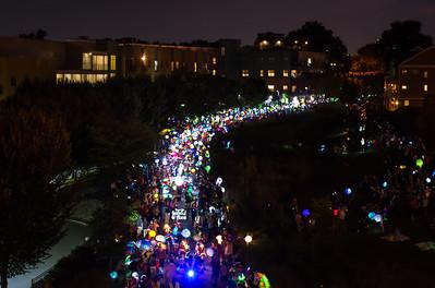 Atlanta Beltline Lantern Parade 2015