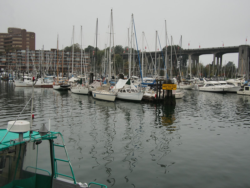 Oct. 19/13 - Boats on Granville Island