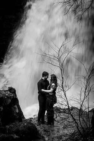 Stephen and Tammy - Hareshaw Linn