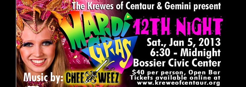 2013 - Krewe Of Centaur 12th Night - Mardi Gras