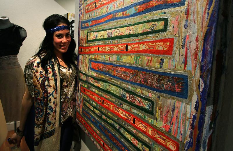 Songs of Sarasvati at Jeanie Madsen Gallery in Santa Monica, CA.