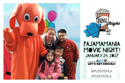 PUENTE Pajama Movie Night 2017