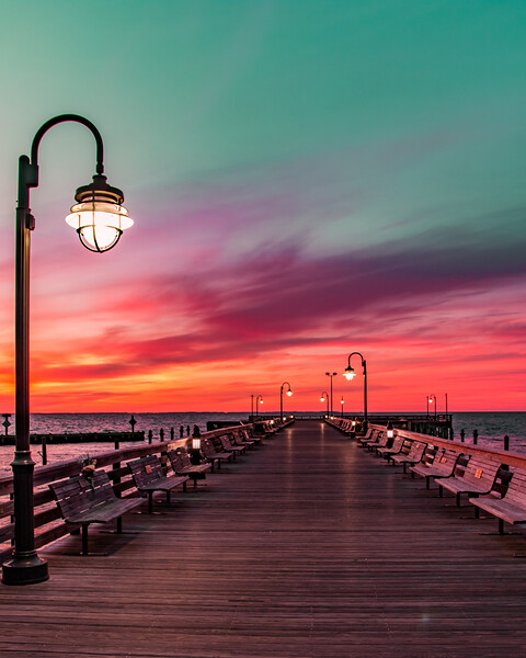 """""""Painted Pier"""""""