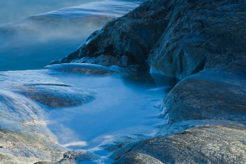 Granite rocks and the Sea