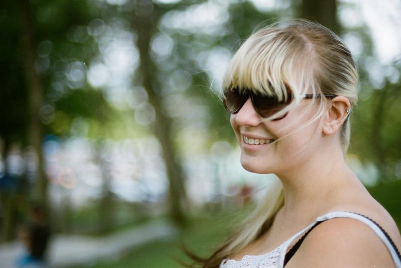 Kristen on Granville Island