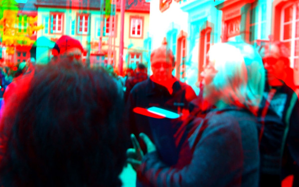 IBC 2014 Convention, 27-29 October,  in Anaglyph Stereo