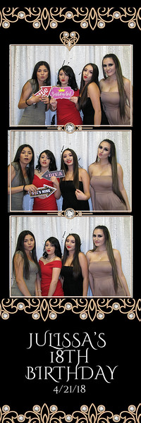 04/21/18 Julissa's 18th Birthday