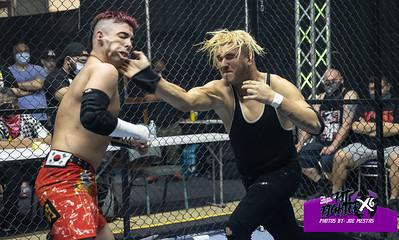 Akira vs Brandon Kirk with Kasey Kirk