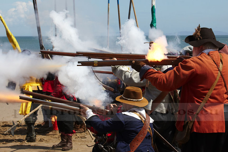 Sealed Knot Society, Saundersfoot 2012