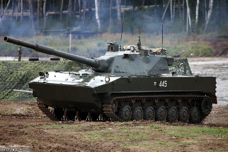 Самоходная противотанковая пушка 2С25 Спрут-СД (2S25 Sprut-SD self-propelled tank destroyer)