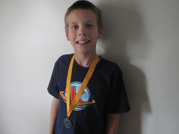 Adam wins silver too!!