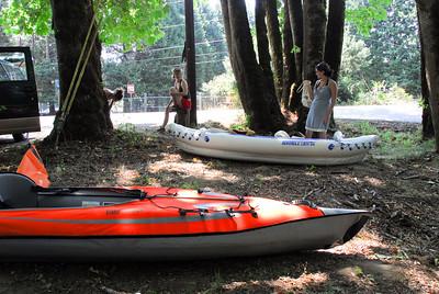 Kayaking on the Mckenzie