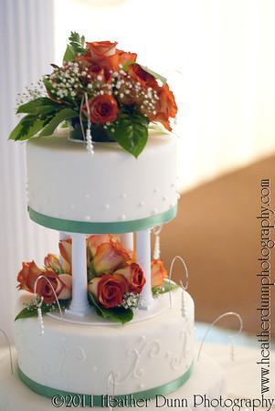 Amy and Joey's Wedding Cake