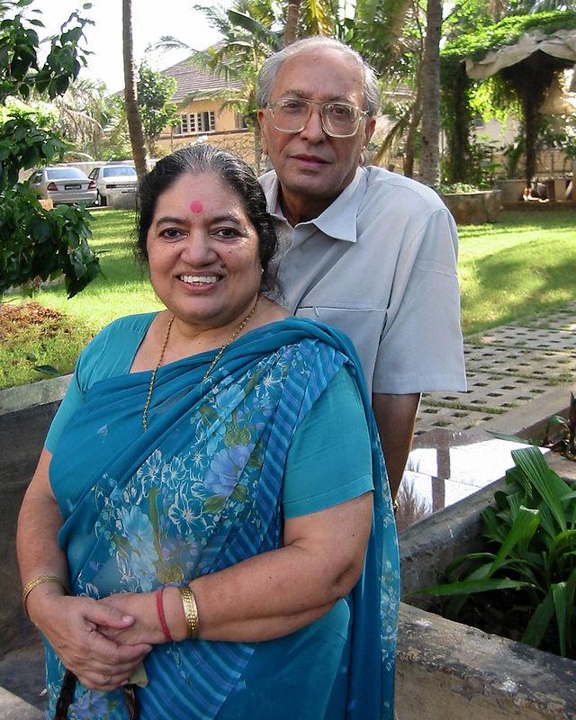 Sharda Nanda [Mom], S K Nanda [Dad]