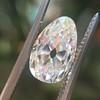 2.13ct Antique Pear Shape Diamond, GIA I, VS2 15