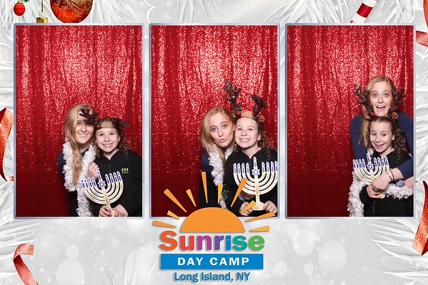 Sunrise Day Camp Holiday Party 2019
