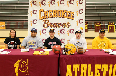 CHS Signing Day, 2-7-18