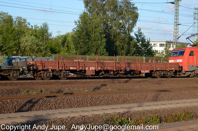 R Coded (54) (Ordinary flat wagon with bogies)